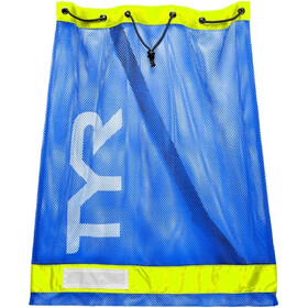 TYR Mesh Equipment Sac, royal/yellow
